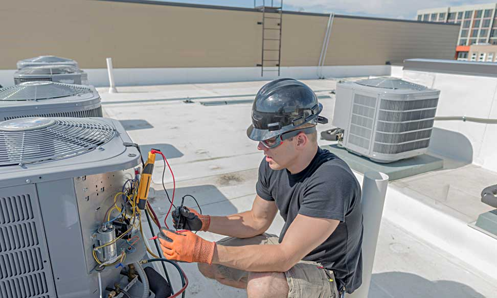 Commercial HVAC Repair Technician